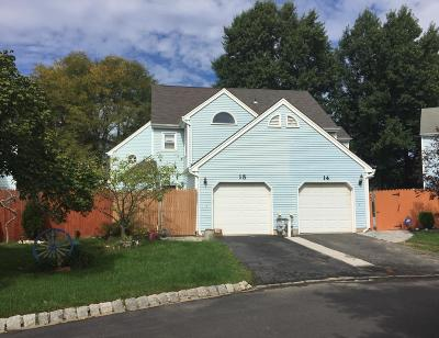 Freehold Condo/Townhouse For Sale: 15 Whittier Court