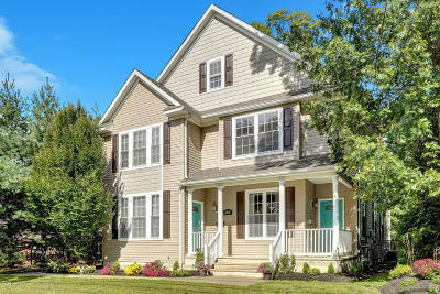 Red Bank Condo/Townhouse For Sale: 158 Newman Springs Road #B