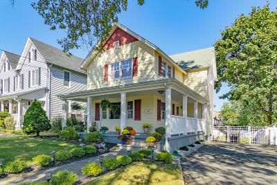 Avon-by-the-sea, Belmar, Bradley Beach, Brielle, Manasquan, Spring Lake, Spring Lake Heights Single Family Home For Sale: 78 Curtis Avenue
