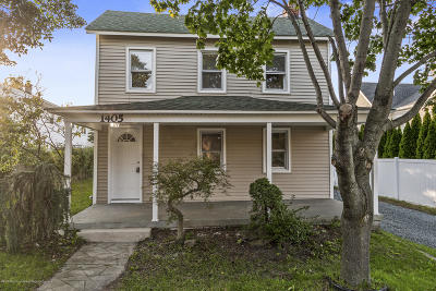 Belmar Single Family Home For Sale: 1405 H Street