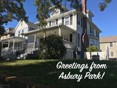 Asbury Park Single Family Home Under Contract: 1201 1st Avenue
