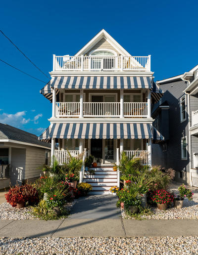 Avon-by-the-sea, Belmar Single Family Home For Sale: 110 14th Avenue