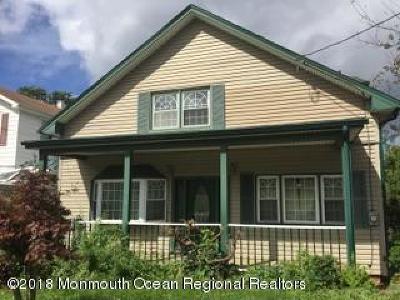 Hazlet Single Family Home For Sale: 84 Bethany Road