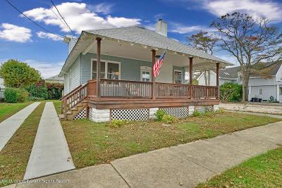 Belmar Single Family Home For Sale: 214 13th Avenue