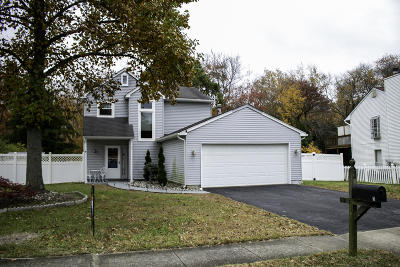 Howell Single Family Home Under Contract: 3 Cripple Creek Road