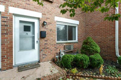 Long Branch Condo/Townhouse Under Contract: 705 Greens Avenue #15