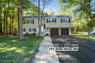 Jackson Single Family Home For Sale: 494 Toms River Road