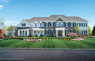 Holmdel NJ Single Family Home Under Contract: $1,447,995