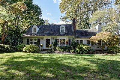 Monmouth County Single Family Home For Sale: 172 Buena Vista Avenue