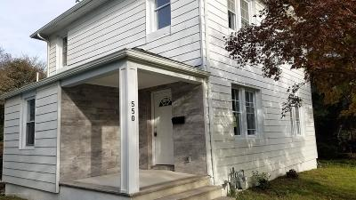 Long Branch Single Family Home For Sale: 550 2nd Avenue