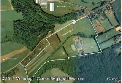 Monmouth County Farm For Sale: 631 Route 524