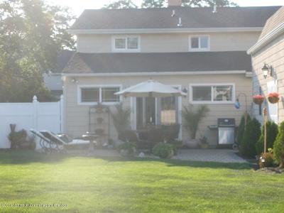 Avon-by-the-sea, Belmar, Bradley Beach, Brielle, Manasquan, Spring Lake, Spring Lake Heights Single Family Home For Sale: 400 Brielle Avenue