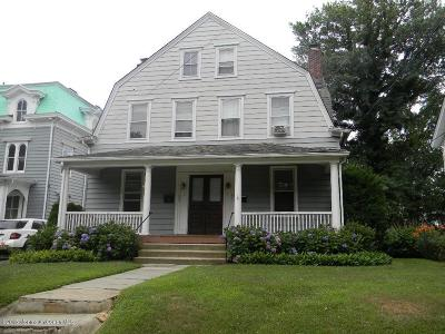 Red Bank Multi Family Home For Sale: 205-207 E Bergen Place