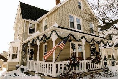 Atlantic Highlands, Highlands Single Family Home For Sale: 71 W Highland Avenue
