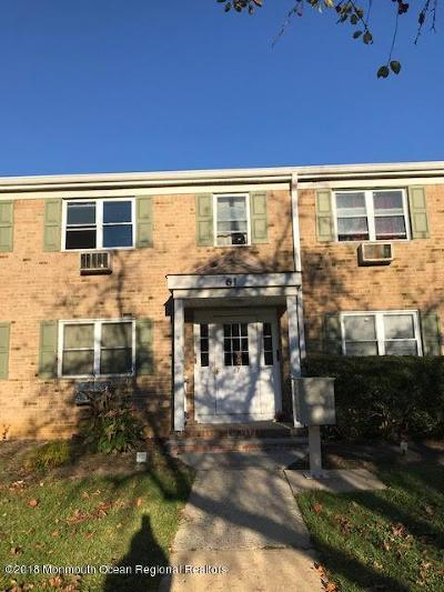 Freehold NJ Condo/Townhouse Under Contract: $85,000