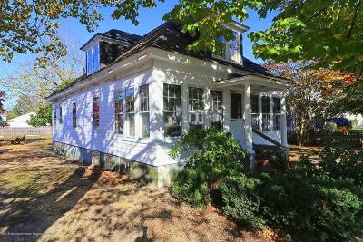 Point Pleasant Single Family Home For Sale: 1117 Morris Avenue