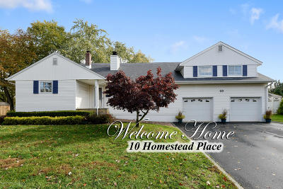 Holmdel Single Family Home Under Contract: 10 Homestead Place