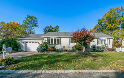 Hazlet Single Family Home For Sale: 34 Central Avenue