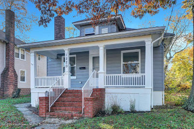 Neptune Township Single Family Home Under Contract: 1220 9th Avenue