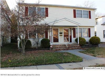 Avon-by-the-sea, Belmar Single Family Home For Sale: 1260 Pine Tree Way