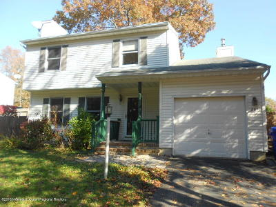 Brick Single Family Home For Sale: 281 Old Toms River Road