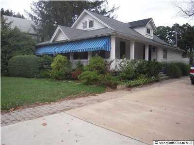 Sea Girt Single Family Home For Sale: 721 Sea Girt Avenue