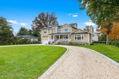 Long Branch, Monmouth Beach, Oceanport Single Family Home For Sale: 133 Monmouth Boulevard