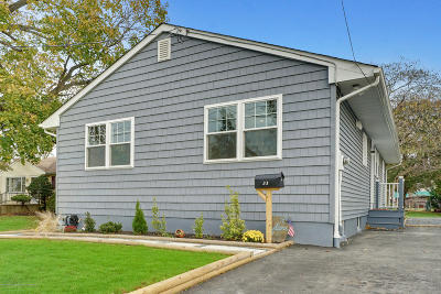 Long Branch, Monmouth Beach, Oceanport Single Family Home For Sale: 33 Myrtle Avenue