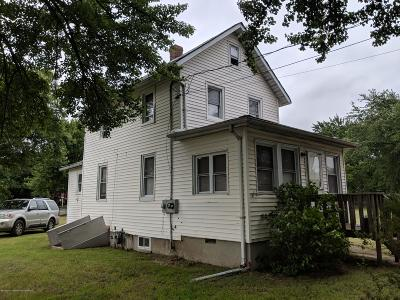 Aberdeen, Matawan Single Family Home For Sale: 459 Cliffwood Avenue