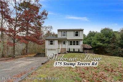 Jackson Single Family Home For Sale: 375 S Stump Tavern Road