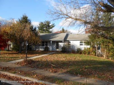 Wall Single Family Home Under Contract: 1230 Oak Road
