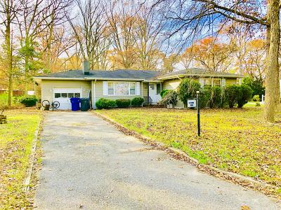 Toms River Single Family Home For Sale: 1404 Wallach Drive