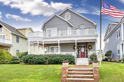 Avon-by-the-sea, Belmar Single Family Home For Sale: 31 Sylvania Avenue