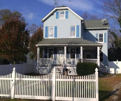 Asbury Park Single Family Home Under Contract: 913 5th Avenue