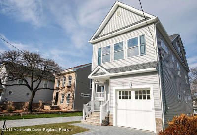 Bradley Beach Single Family Home For Sale: 410 Newark Avenue