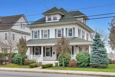 Long Branch Single Family Home For Sale: 450 Broadway
