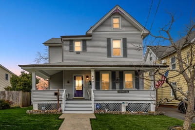 Long Branch Single Family Home For Sale: 607 McClellan Street