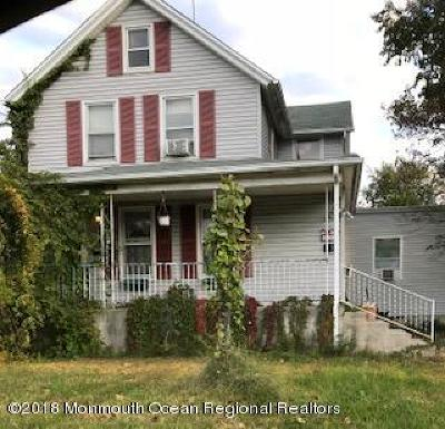 Atlantic Highlands Single Family Home Under Contract: 26 Leonard Avenue