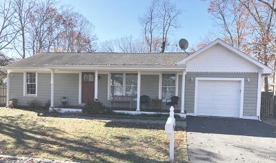 Point Pleasant Single Family Home For Sale: 601 Highland Drive