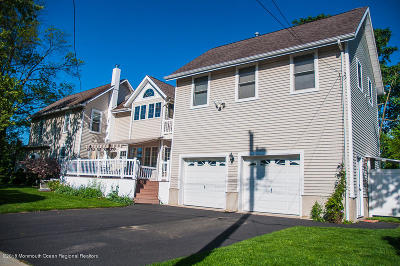 Bradley Beach Attached For Sale: 517 Monmouth Avenue