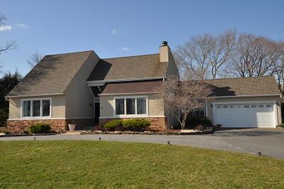 Holmdel NJ Single Family Home For Sale: $629,000