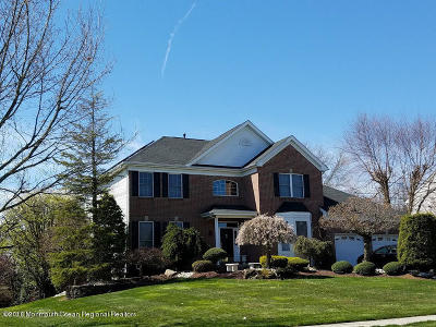 Freehold NJ Single Family Home For Sale: $675,000