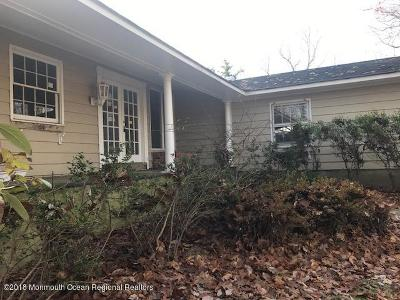 Holmdel Single Family Home Under Contract: 236 Holland Road