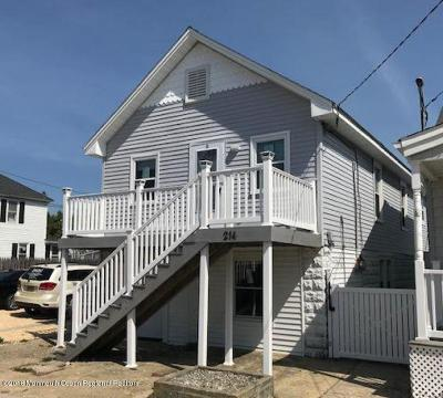 Seaside Heights Single Family Home For Sale: 214 Dupont Avenue