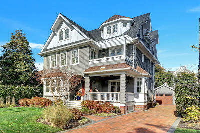 Sea Girt Single Family Home For Sale: 103 Philadelphia Boulevard