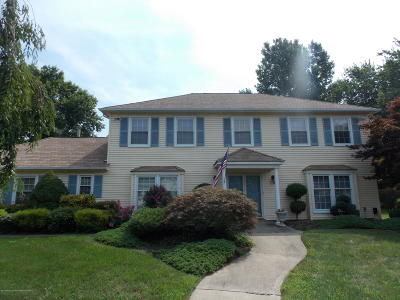 West Long Branch Single Family Home For Sale: 60 Bampton Place