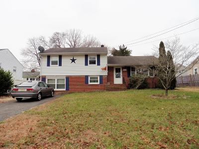 Toms River Single Family Home For Sale: 528 Hollywood Avenue