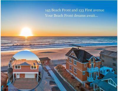 Avon-by-the-sea, Belmar, Bradley Beach, Brielle, Manasquan, Spring Lake, Spring Lake Heights Single Family Home For Sale: 133 1st Avenue