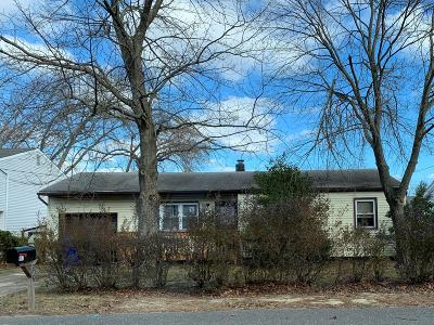 Brick NJ Single Family Home For Sale: $155,000