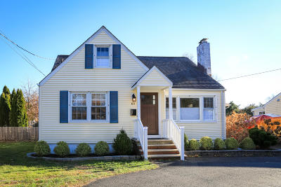 Long Branch, Monmouth Beach, Oceanport Single Family Home For Sale: 60 Comanche Drive